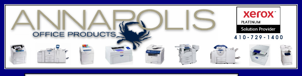 Annapolis Office Products - Xerox Printers and Copiers in Maryland
